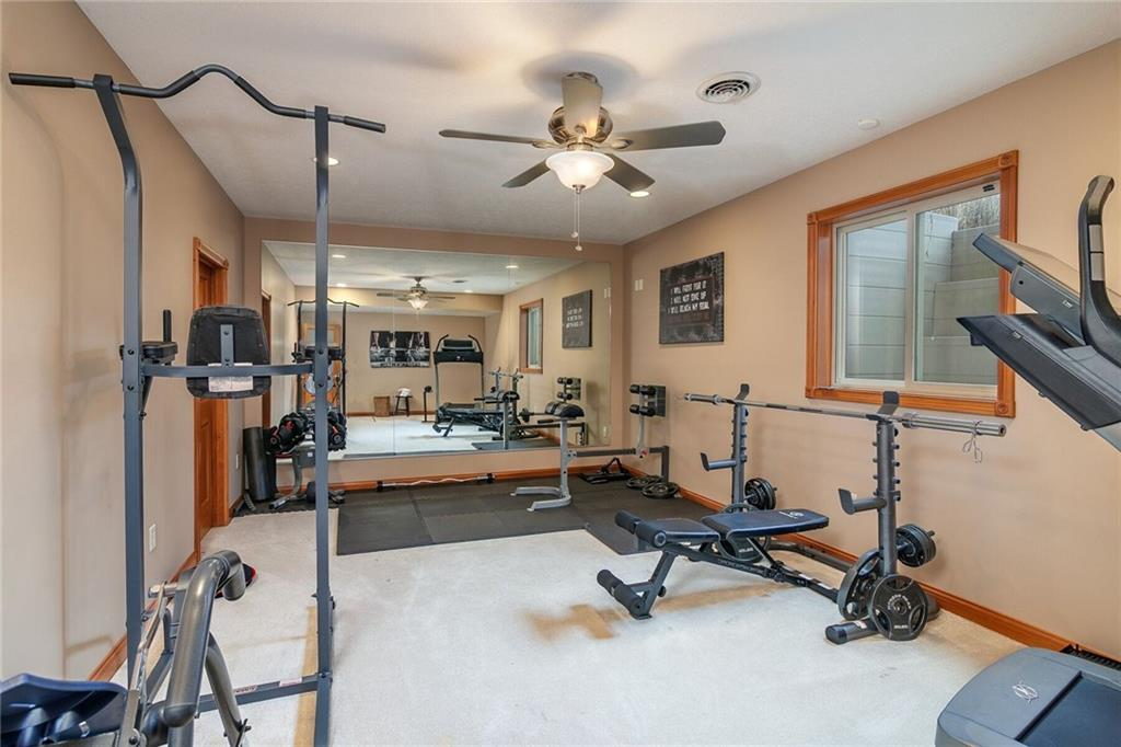 The flex space at 2109 Eagles Lake Drive.